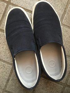 無印良品 MUJI 子供 靴 オーガニックコットン スニーカー 16.0cm 男の子_画像2